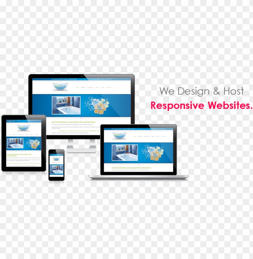 free PNG responsive website design & web hosting - computer repair PNG image with transparent background PNG images transparent