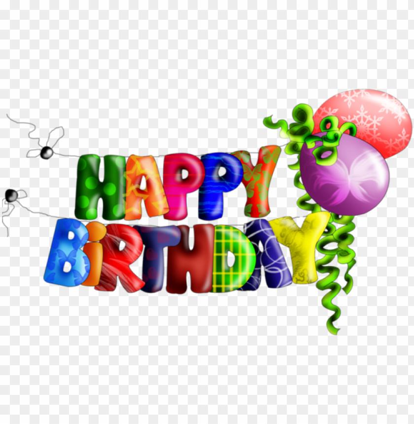 free PNG resultado de imagen para feliz cumpleaños texto png - happy birthday napis PNG image with transparent background PNG images transparent