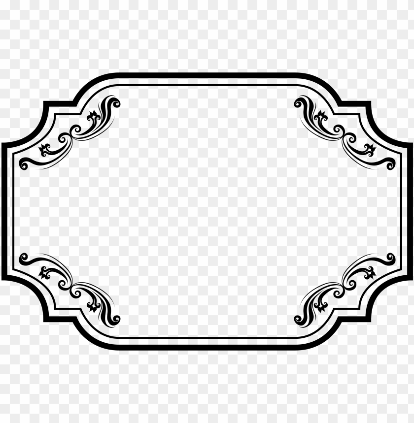 free PNG results for simple vintage frame vector free download - black frame png vector PNG image with transparent background PNG images transparent