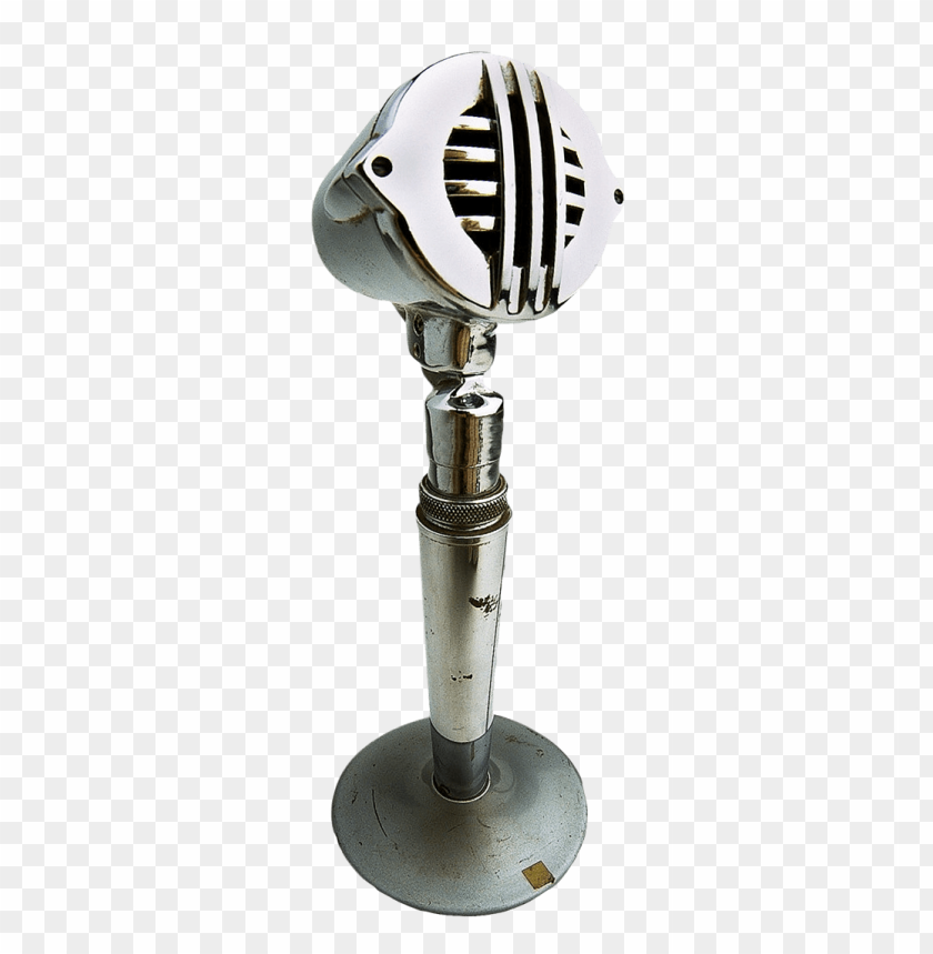free PNG Retro Microphone On Stand png images background PNG images transparent