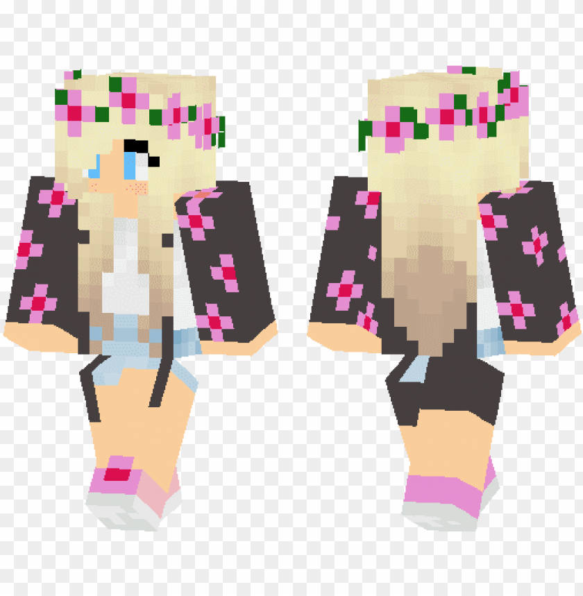 Retty Girl Skins Minecraft Pe Png Image With Transparent