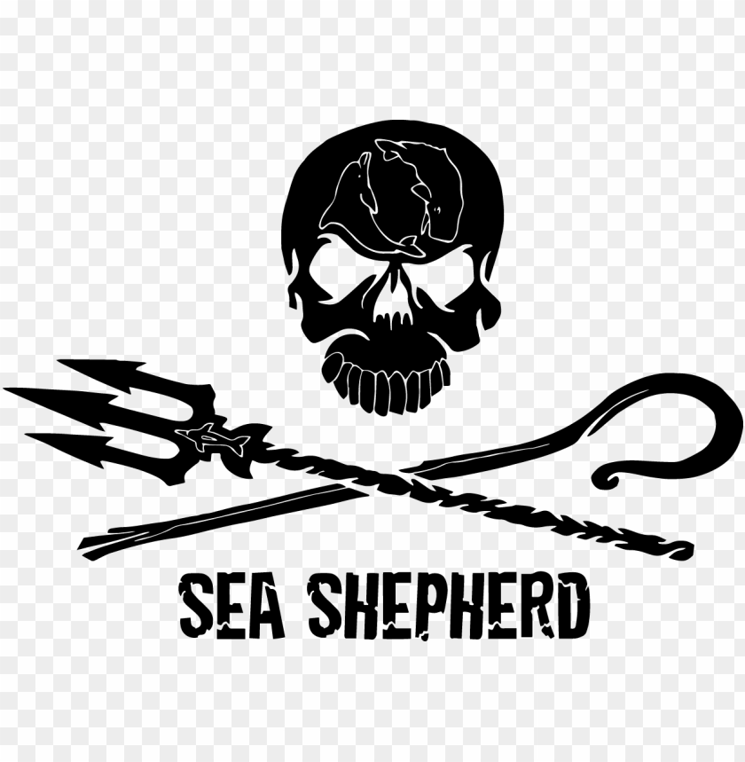 Revious Entry Jolly Roger Sea Shepherd Logo Png Image With