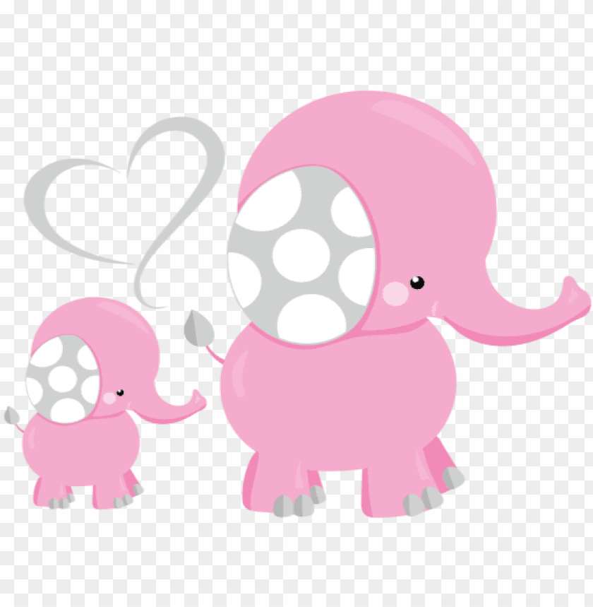 Revious Pink Elephant Picture For Baby Shower Png Image With Transparent Background Toppng