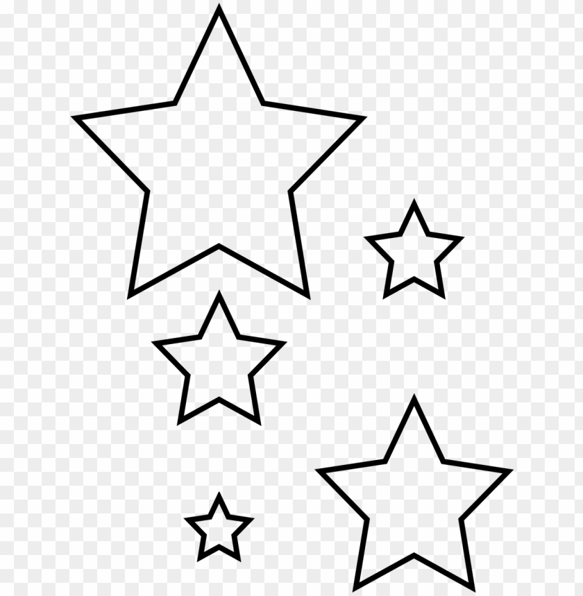 free PNG revisited star cut out printable template red white - star png cut out PNG image with transparent background PNG images transparent