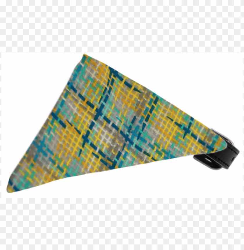 free PNG rey party plaid bandana pet collar black - mirage pet products grey party plaid bandana pet collar PNG image with transparent background PNG images transparent