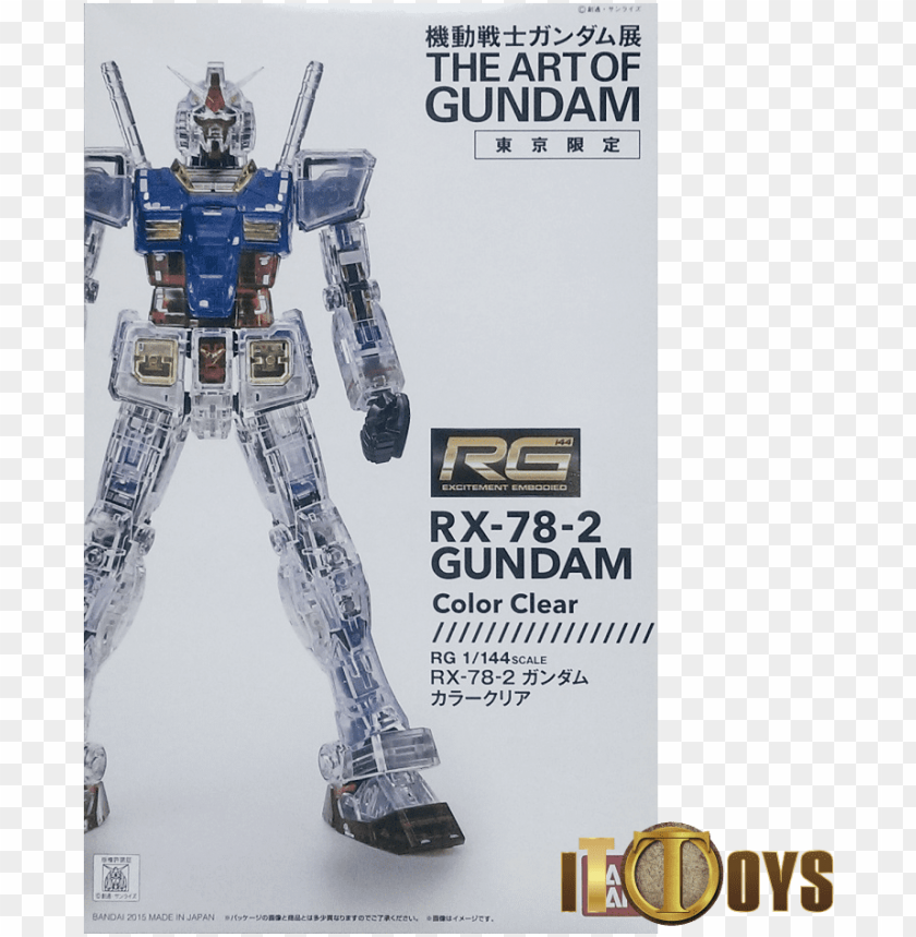 free PNG rg 1/144 the art of gundam rx 78 2 gundam color clear - rg rx 78 2 clear PNG image with transparent background PNG images transparent