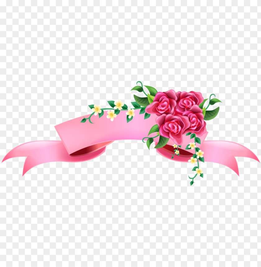 Ribbon Vector Png Download Pink Ribbon Banner Png Image With