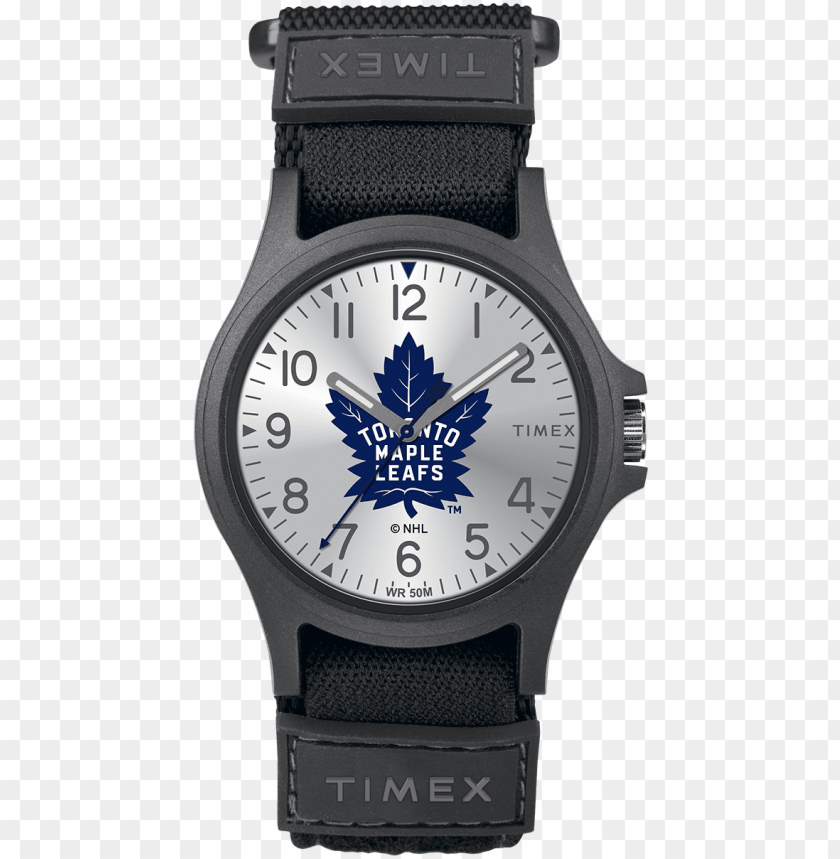 free PNG ride toronto maple leafs large - toronto maple leafs wrist watch PNG image with transparent background PNG images transparent