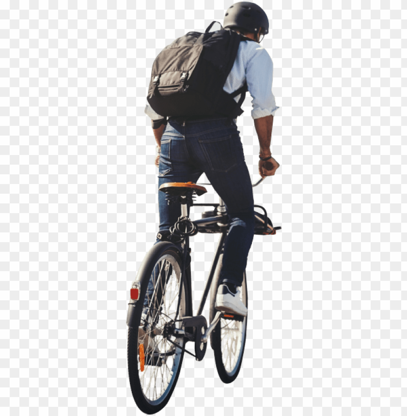 free PNG riding city bike PNG image with transparent background PNG images transparent