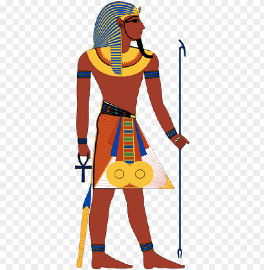 free PNG right facing pharaoh - pharaoh PNG image with transparent background PNG images transparent