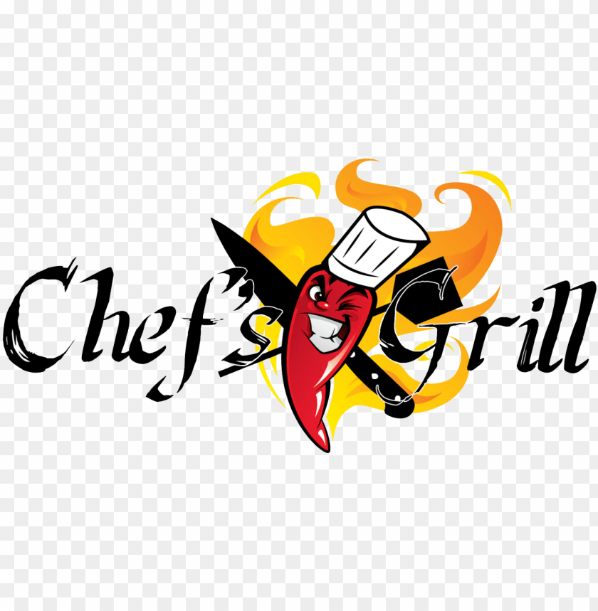 free PNG rill clipart grill chef - chefs grill logo PNG image with transparent background PNG images transparent