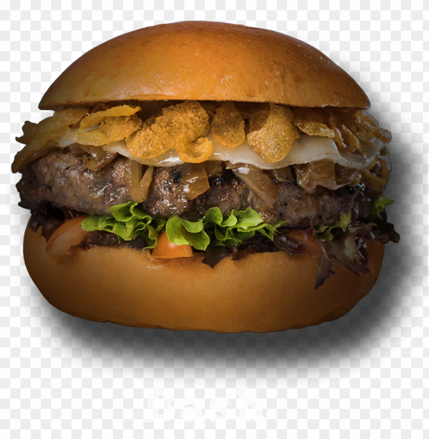 free PNG rilled beef, bacon relish, provolone cheese, caramelised - fast food PNG image with transparent background PNG images transparent