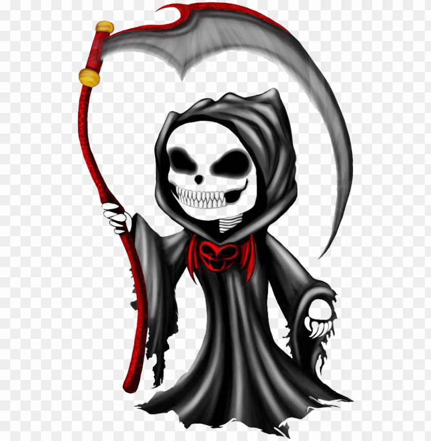 free PNG rim reaper png free download - grim reaper chibi PNG image with transparent background PNG images transparent