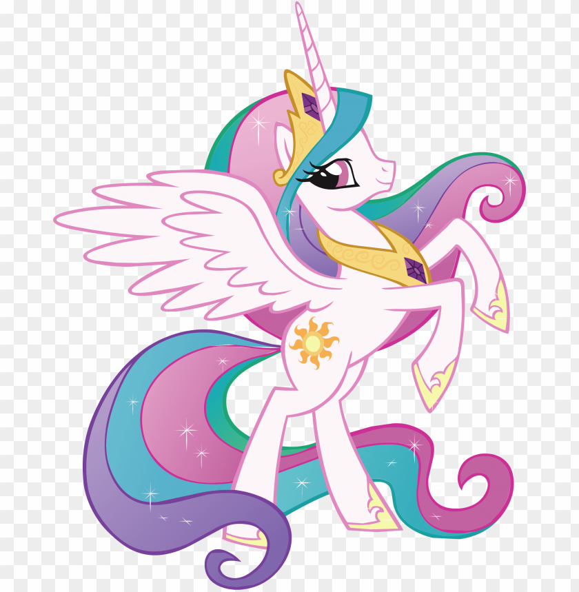 free PNG rincess celestia my little pony decal removable wall - my little pony celestia PNG image with transparent background PNG images transparent