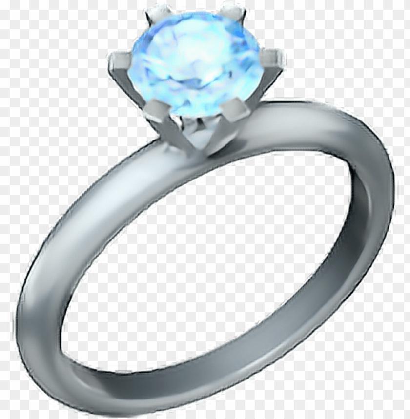 free PNG • ring emoji ???? ring diamond - ring emoji PNG image with transparent background PNG images transparent