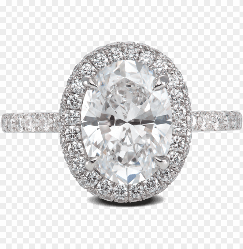 free PNG ring glamour flush platinum halo diamonds steven kirsch - diamond ring flush halo PNG image with transparent background PNG images transparent