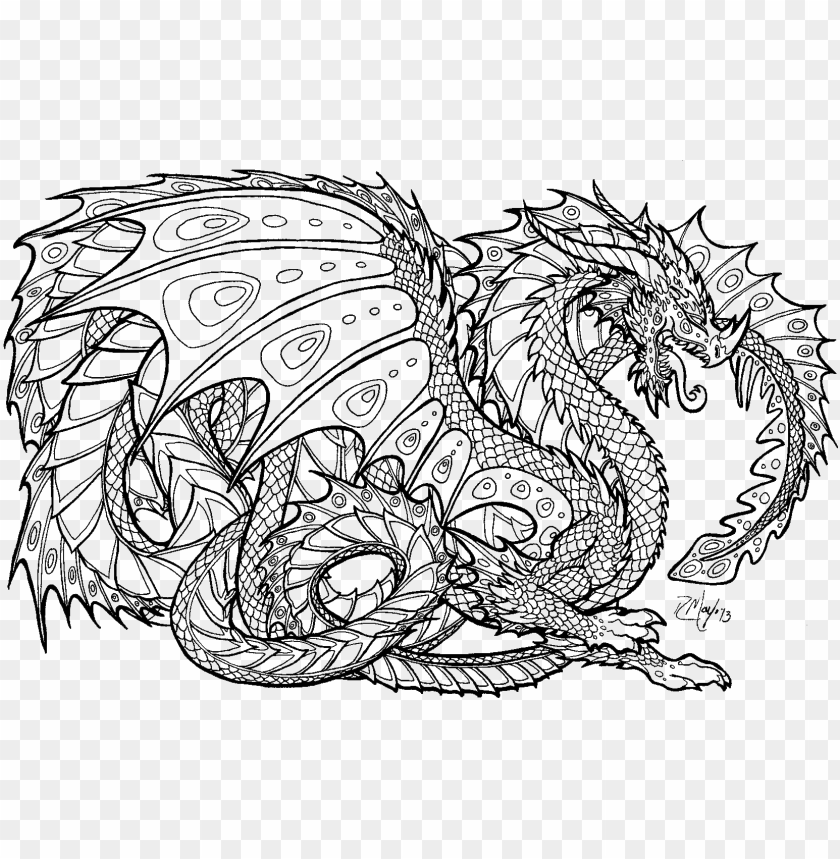 rintable 17 fire dragon coloring pages - realistic dragon ...