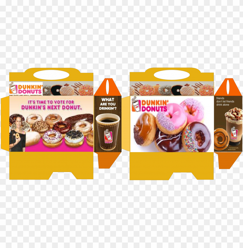 free PNG rintable dunkin' donuts box barbie food, doll food, - dunkin' donuts ground coffee, french vanilla - 24 oz PNG image with transparent background PNG images transparent