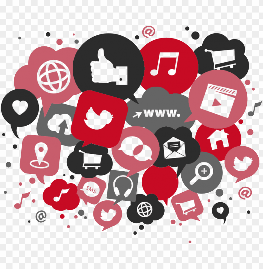 free PNG ro e solutions offers you social media consultancy - social media png red PNG image with transparent background PNG images transparent