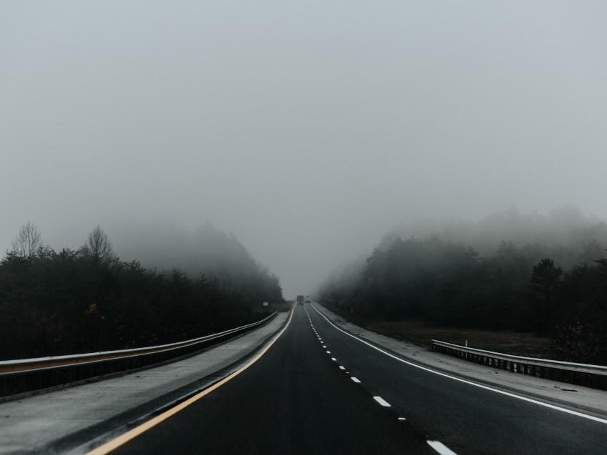 free PNG road, fog, asphalt, marking, movement background PNG images transparent