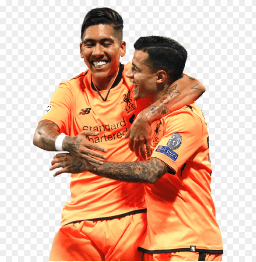 free PNG Download roberto firmino & philippe coutinho png images background PNG images transparent