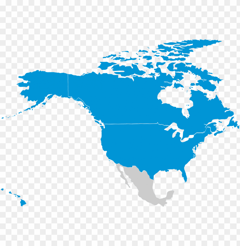 free PNG robins financial - - map of north america no borders PNG image with transparent background PNG images transparent