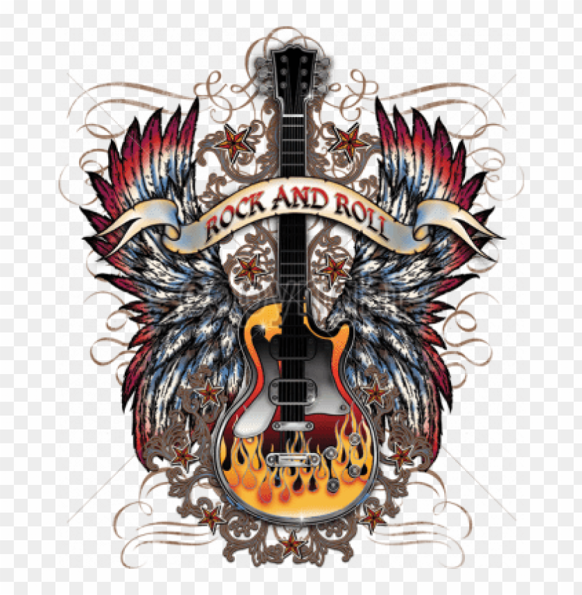 free PNG rock and roll png - rock and roll shirt designs with guitars PNG image with transparent background PNG images transparent