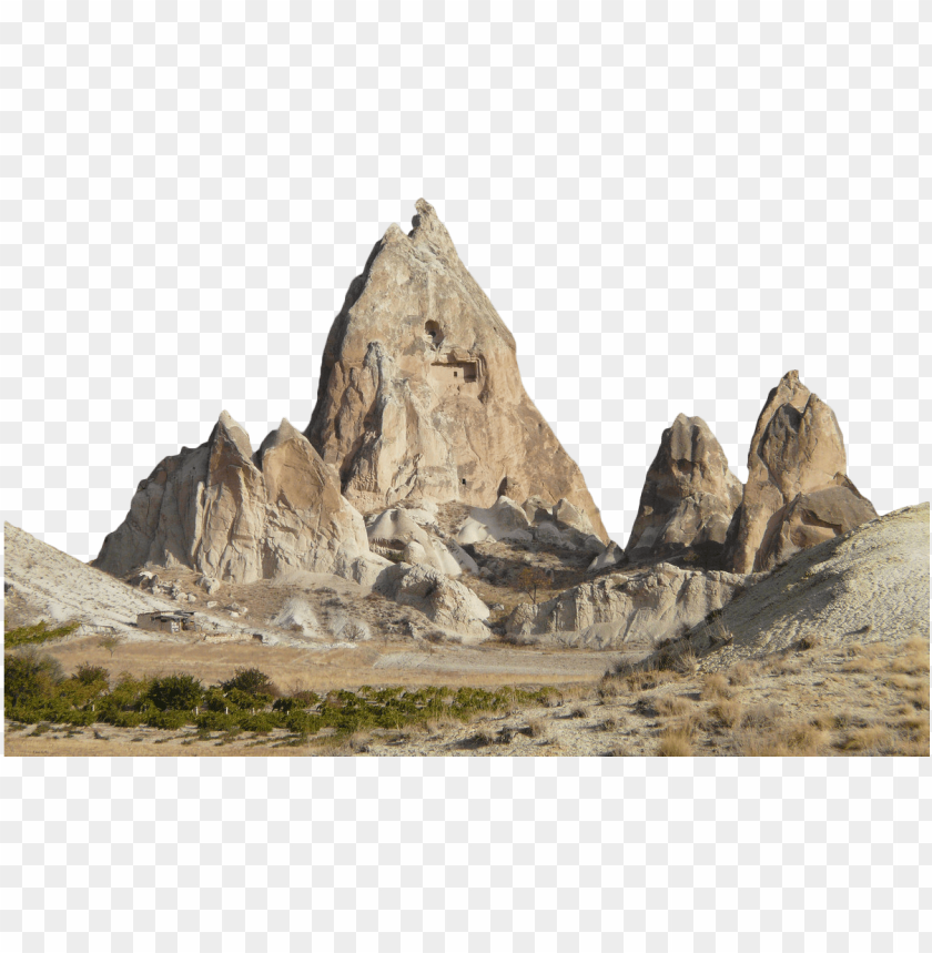 free PNG rock landscape tuff tufa - fairy chimney rock formations: blank 150 page lined PNG image with transparent background PNG images transparent