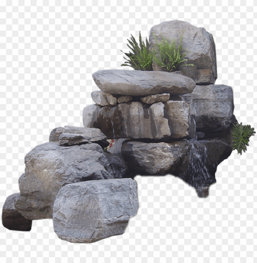 free PNG rock rocks water waterfall nature landescape - waterfall rocks png transparent PNG image with transparent background PNG images transparent