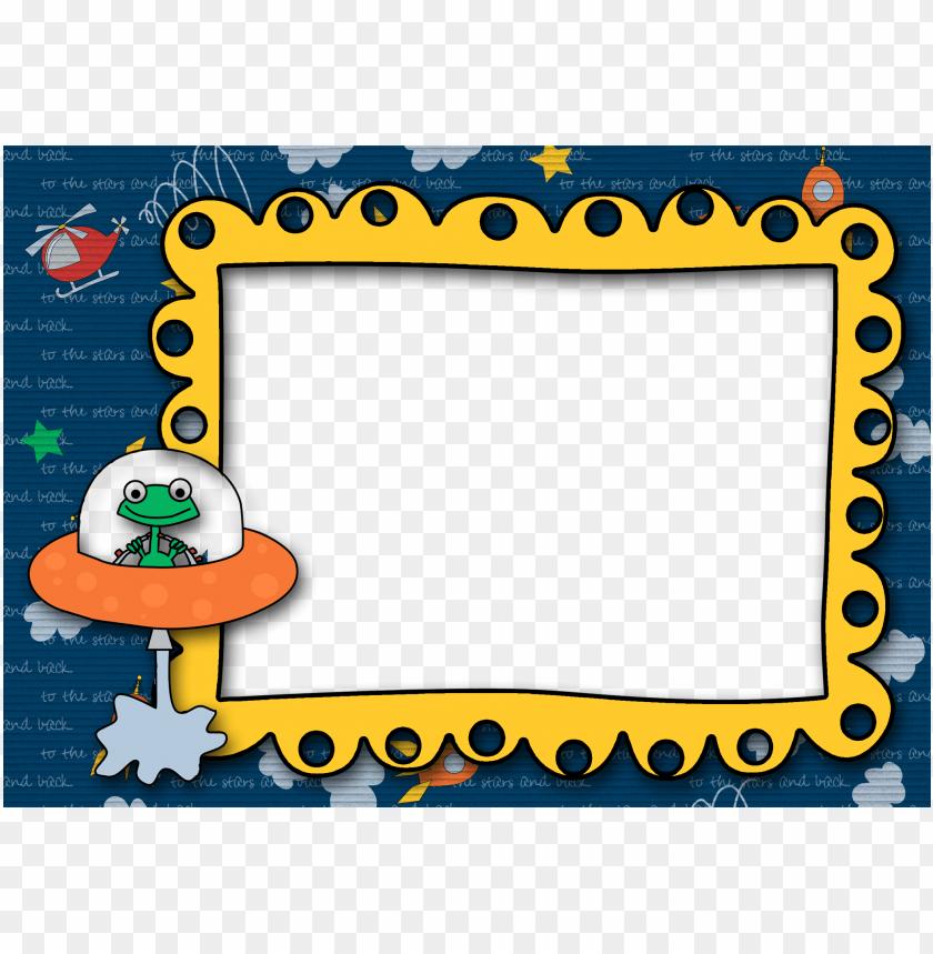 free PNG rocket ship png image - alien border clipart PNG image with transparent background PNG images transparent