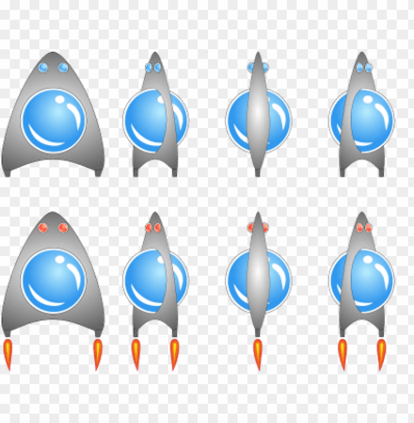 rocket ship sprite sheet PNG image with transparent background@toppng.com