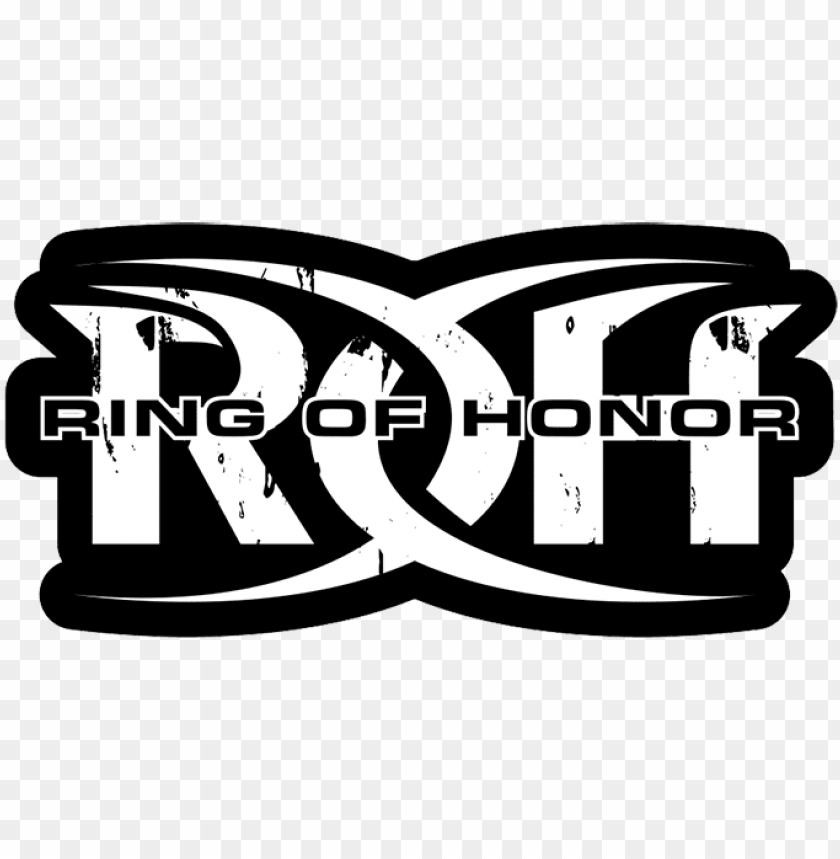 roh wrestling on twitter ring of honor logo png image with transparent background toppng ring of honor logo png image with