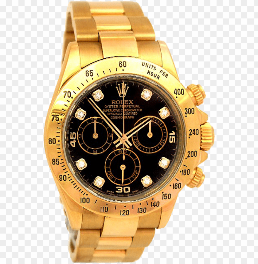 free PNG rolex daytona 116523 black diamond dial steel watch PNG image with transparent background PNG images transparent