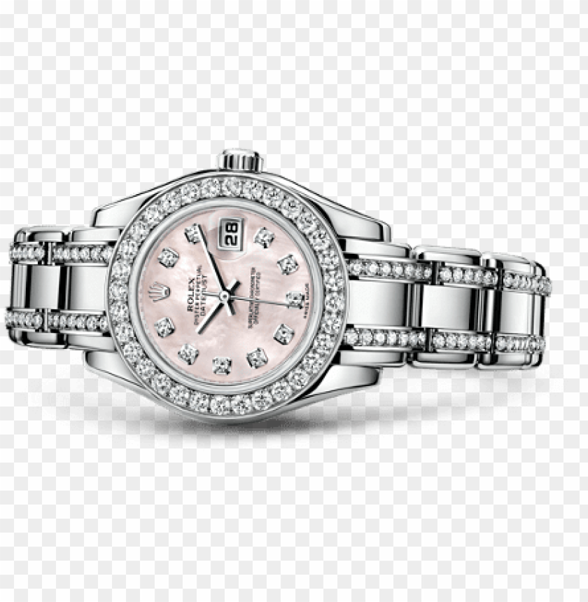 free PNG /rolex replica /watches/lady datejust/rolex lady datejust - rolex oyster perpetual lady datejust pearlmaster 29mm PNG image with transparent background PNG images transparent