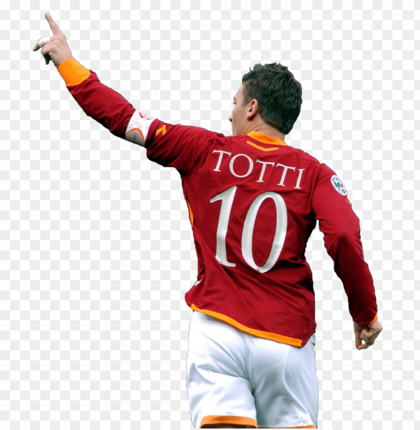 free PNG roma captain francesco totti has admitted that the - totti re di roma PNG image with transparent background PNG images transparent