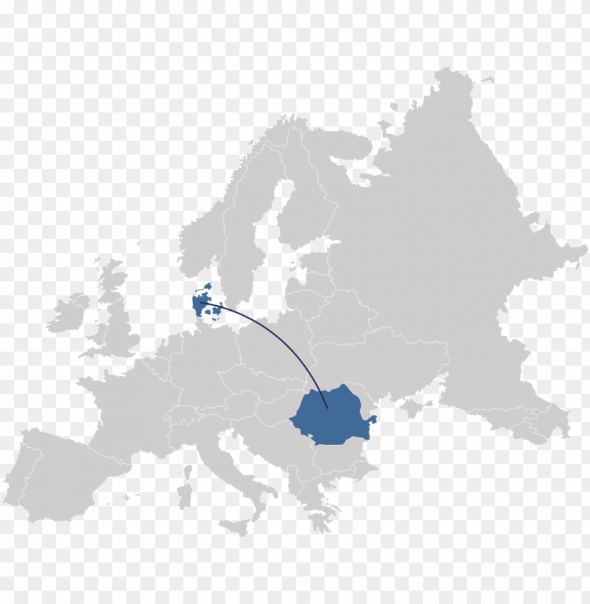 free PNG romania in europe - europe map vector PNG image with transparent background PNG images transparent