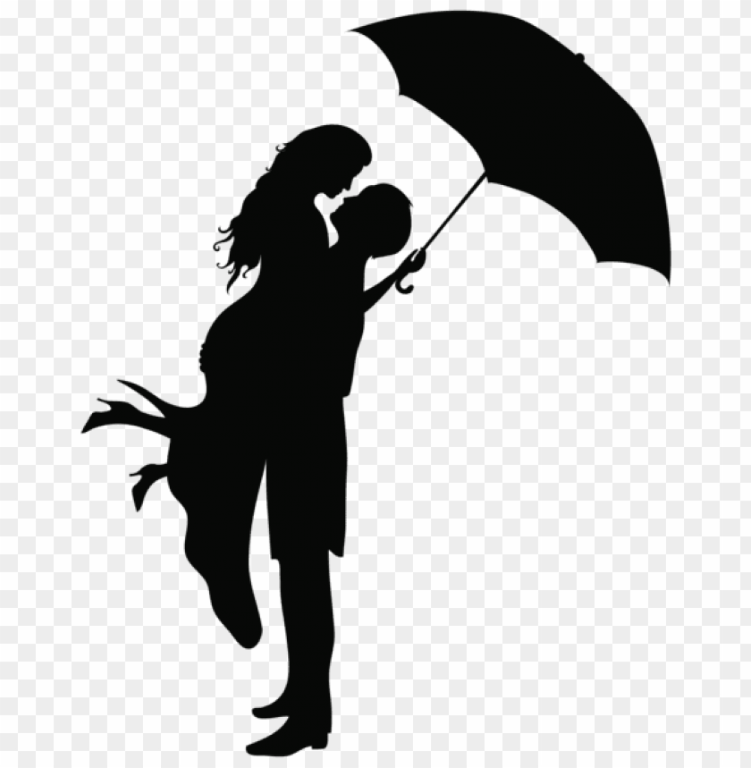 free PNG Download romantic couple silhouettes png images background PNG images transparent