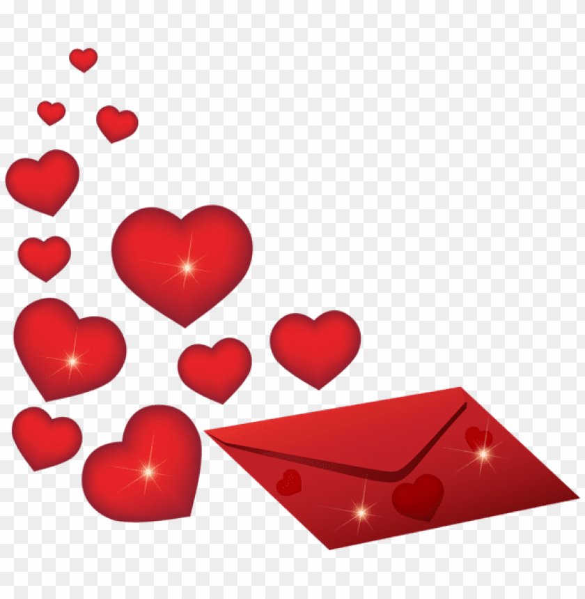 free PNG Download romantic envelope with hearts png images background PNG images transparent