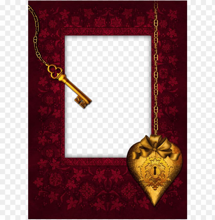 free PNG romantic keyphoto frame background best stock photos PNG images transparent