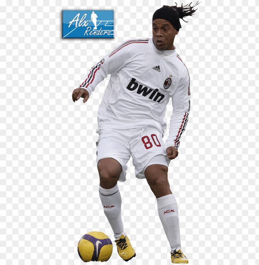 Ronaldinho Myspace Soccer Player Png Image With Transparent