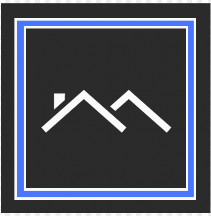 free PNG roofing icon blue black white - white PNG image with transparent background PNG images transparent