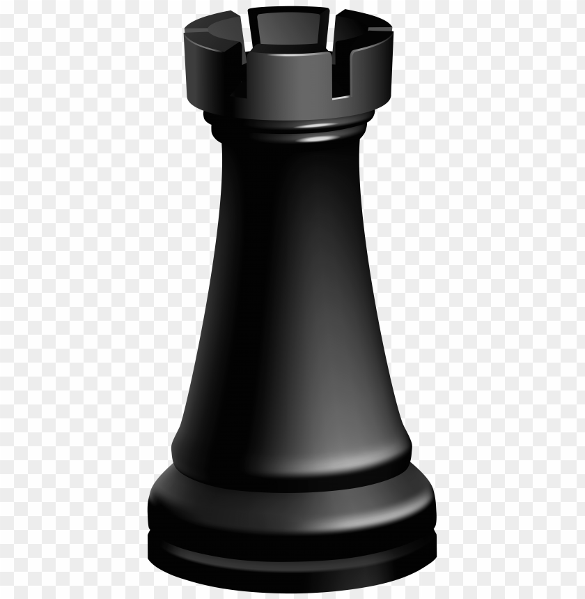 free PNG Download rook black chess piece clipart png photo   PNG images transparent