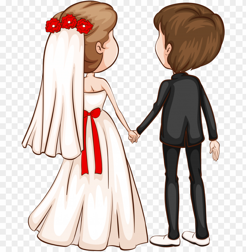 free PNG room clipart character - clip art wedding couple PNG image with transparent background PNG images transparent