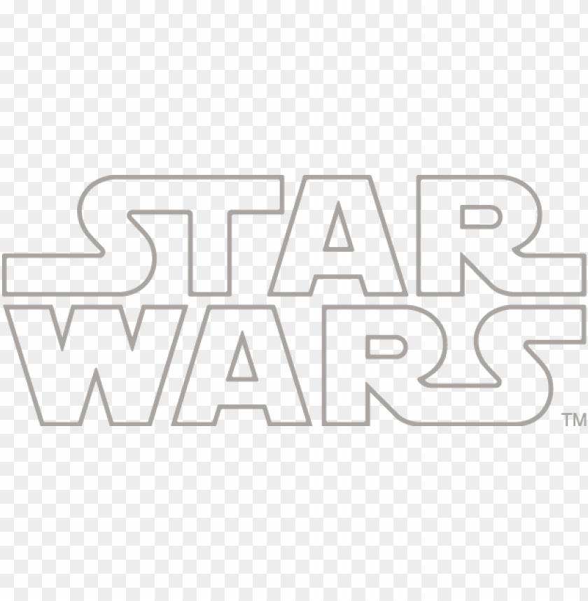 free PNG ropel star wars battle drones logo - star wars logo white PNG image with transparent background PNG images transparent