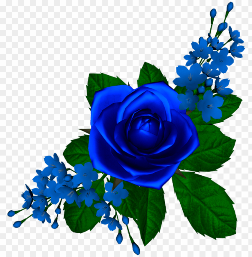 free PNG rosa azul - tube-flores - rosa azul PNG image with transparent background PNG images transparent