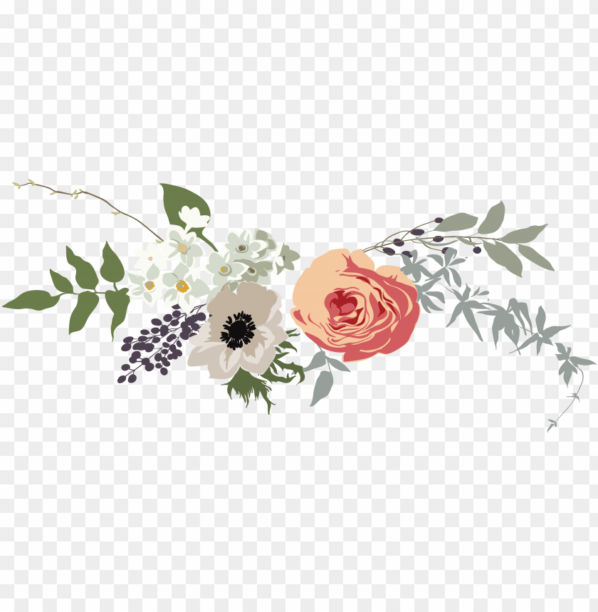 free PNG rose banner png banner royalty free stock - flower png for banner PNG image with transparent background PNG images transparent