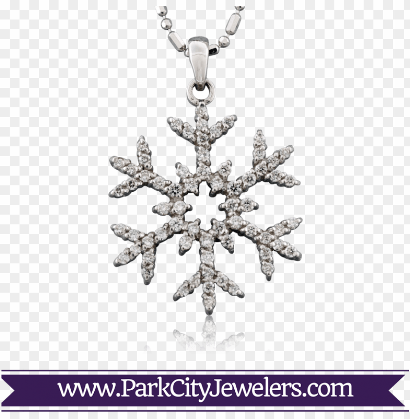 free PNG rose gold diamond snowflake necklace PNG image with transparent background PNG images transparent