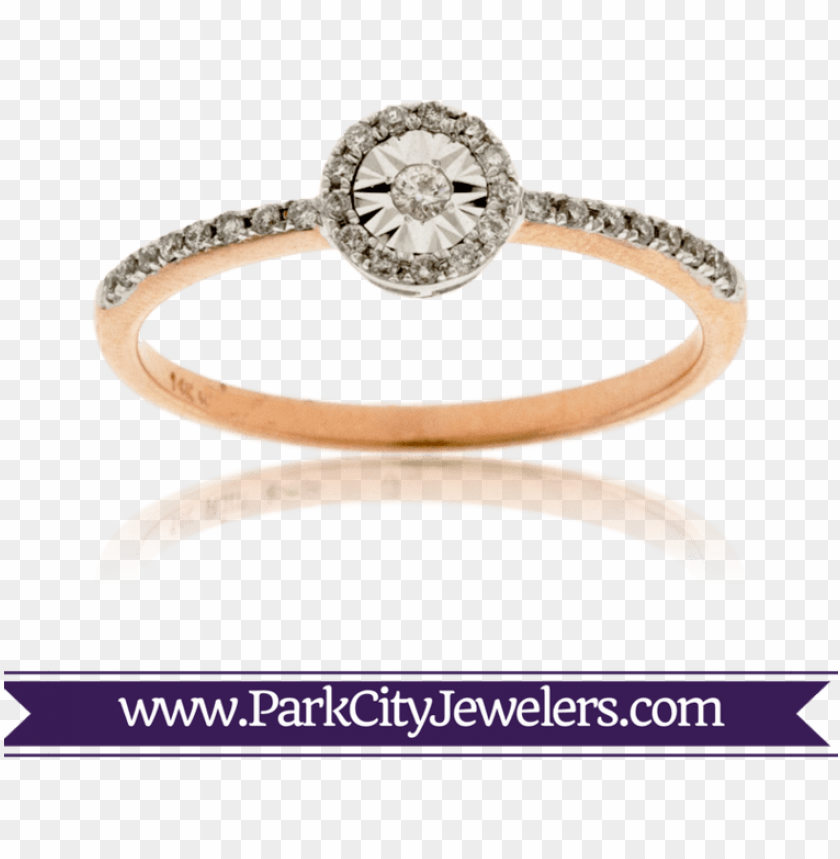 free PNG rose gold halo diamond ring - elk ivory and diamond ri PNG image with transparent background PNG images transparent