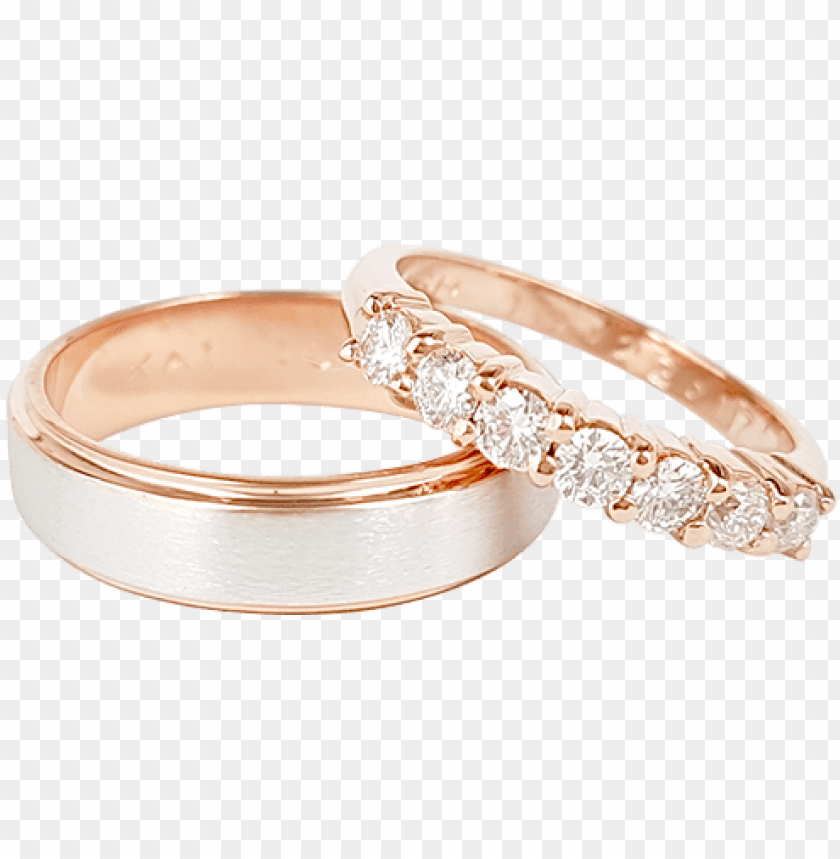 free PNG rose gold wedding rings - rose gold rings philippines PNG image with transparent background PNG images transparent
