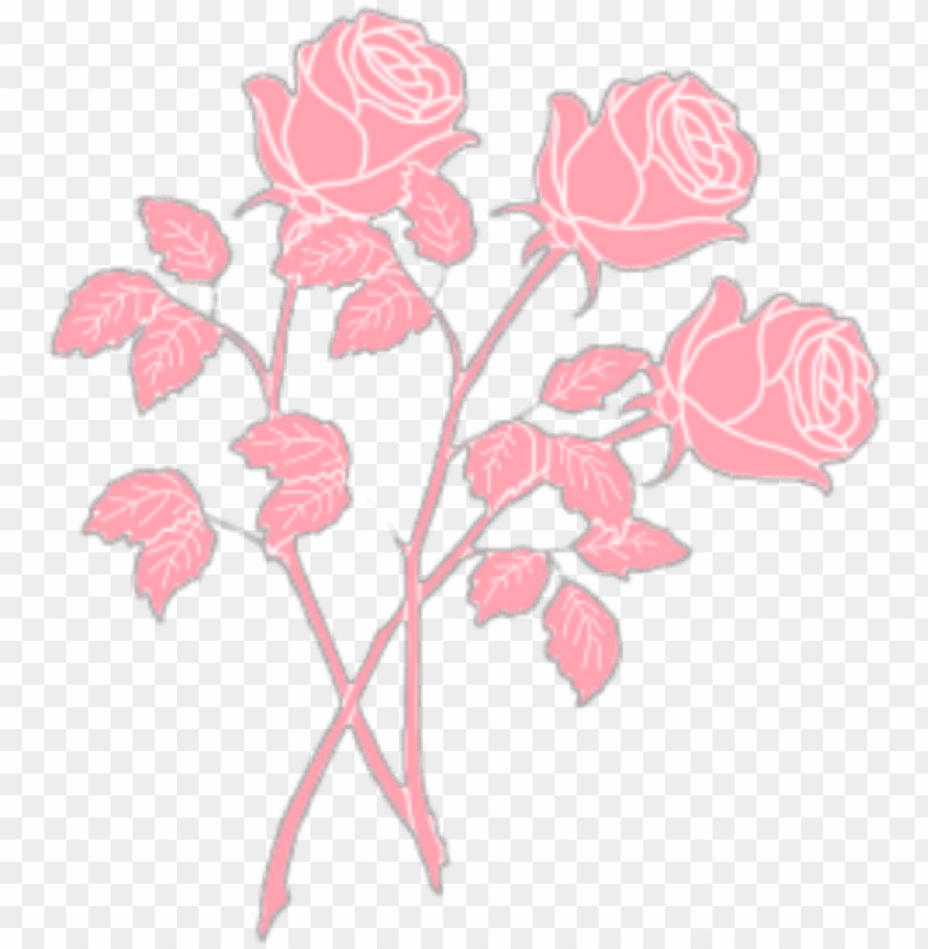 free PNG roses rose pink pastel pastelpink aesthetic tumblr - pastel pink aesthetic transparent PNG image with transparent background PNG images transparent
